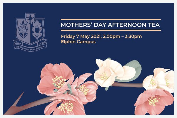 Please join us for a Mothers' Day Afternoon Tea